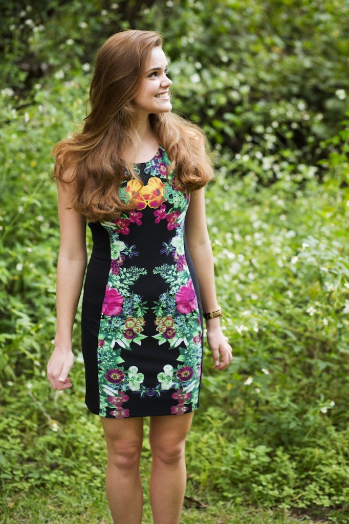 Colorful Floral Dress from Kohls