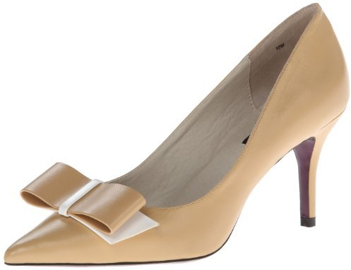 nude heel with bow