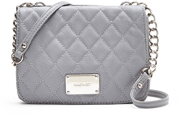 nine west small grey purse