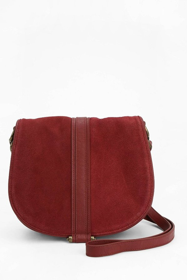 red saddle bag urban outfitters