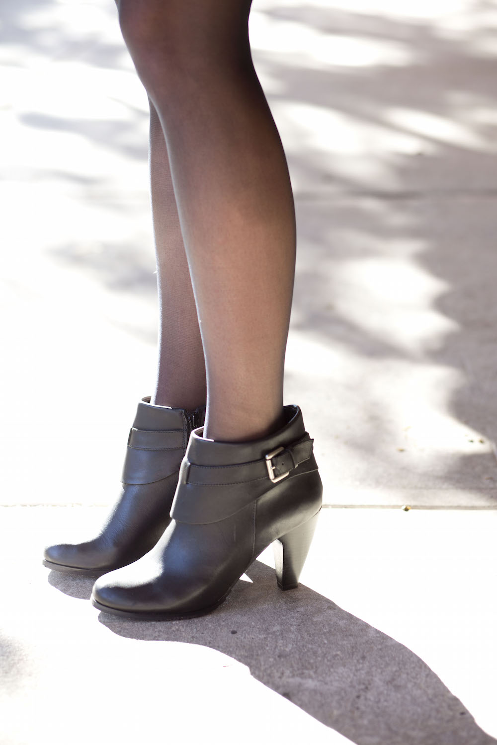 black-faux-leather-boots-with-silver-buckle