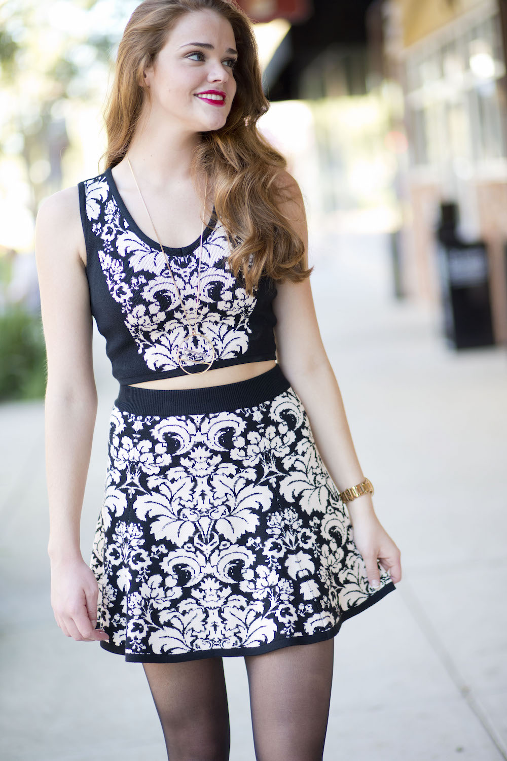 material-girl-knit-crop-top-and-skirt-combo