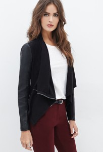 unique leather jacket under 50 dollars