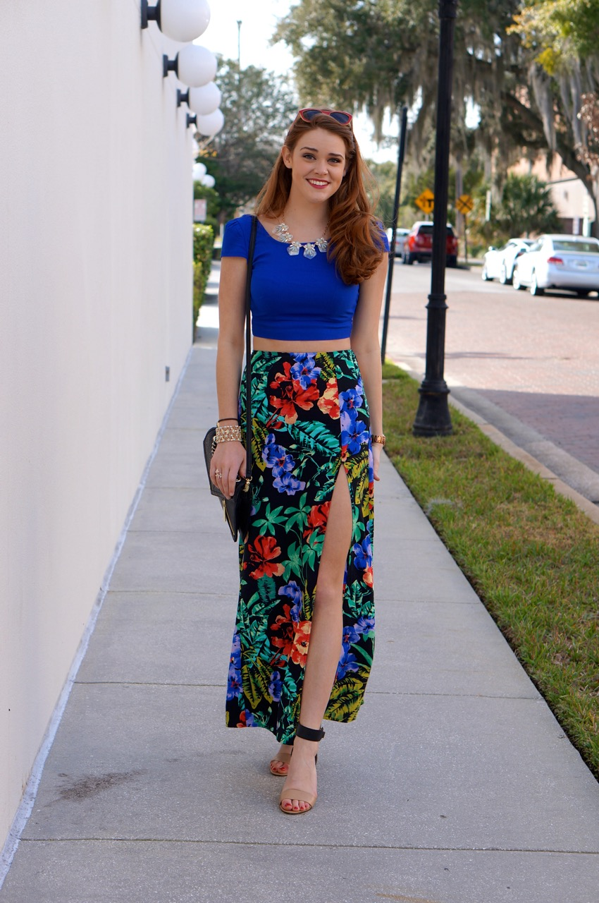bright tropical maxi skirt where did you get it