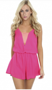 hot-pink-strappy-romper