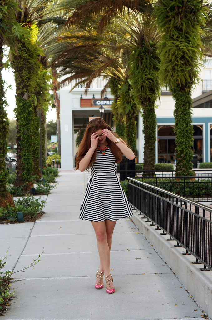 dress-with-stripes
