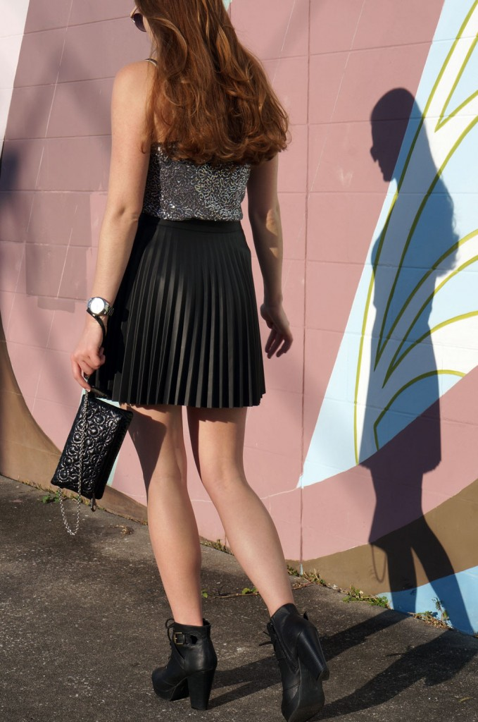 black-pleather-skirt