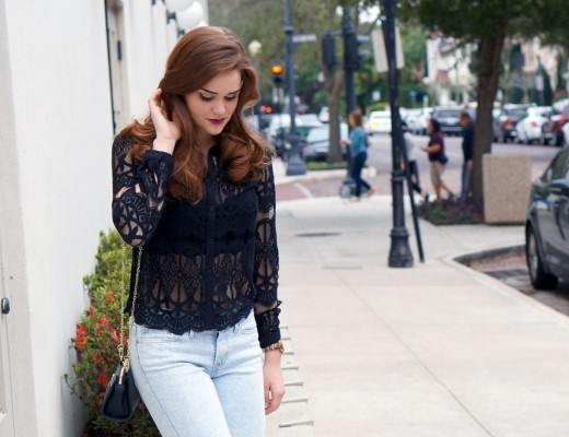 black-lace-button-down-wide